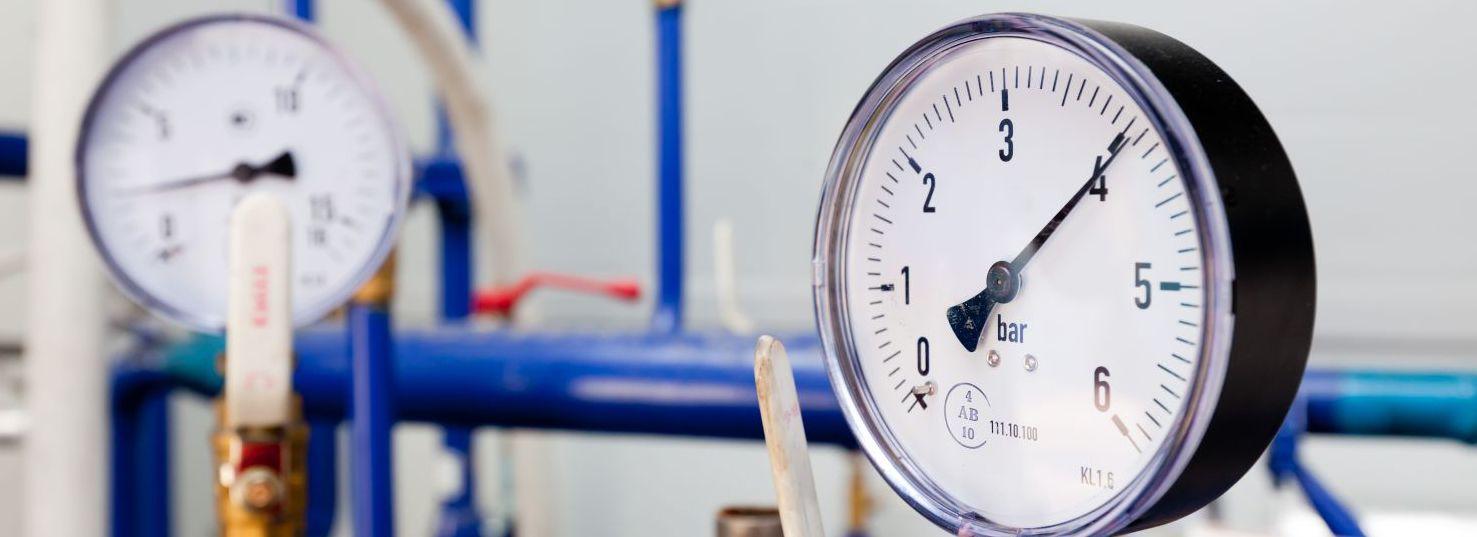 Bar meters as part of compressor company in Cincinnati, OH