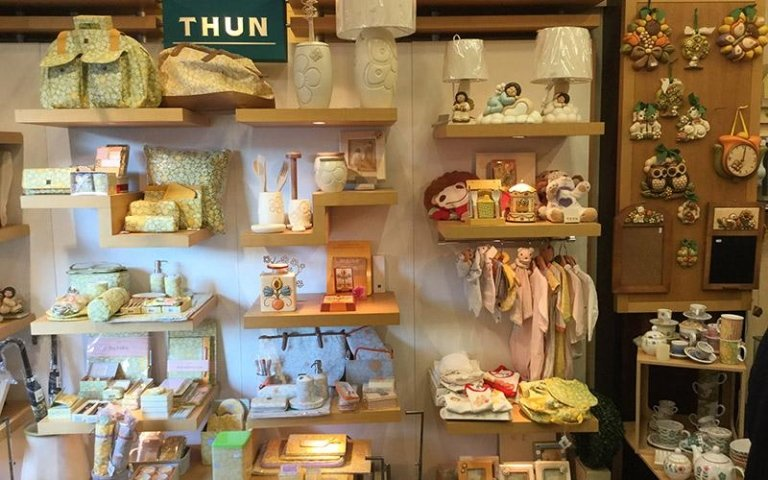 Esposizione prodotti Thun