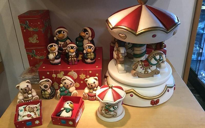 Ceramiche natalizie Thun