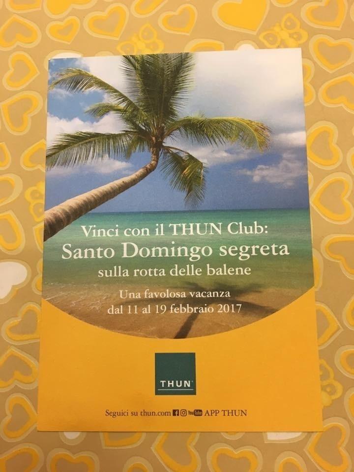 con Thun Club vinci un viaggio per Santo Domingo