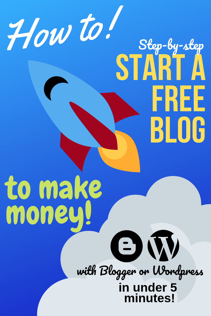 how to start a free blog for beginners