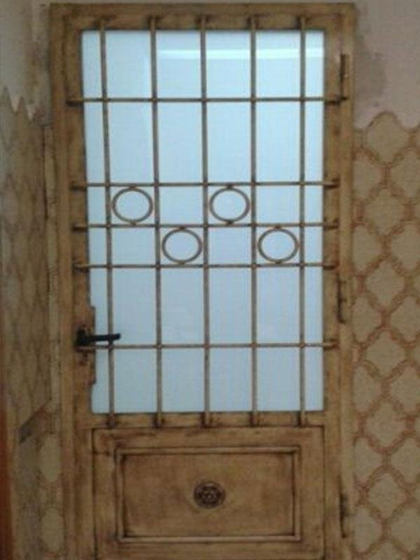 porta esterno in ferro