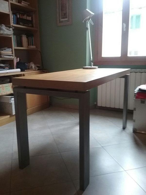 tavolo in ferro legno