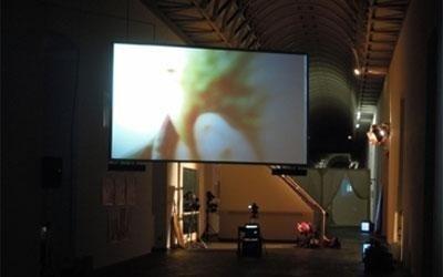 videoproiezione museo