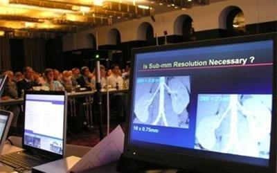 monitor per conferenza