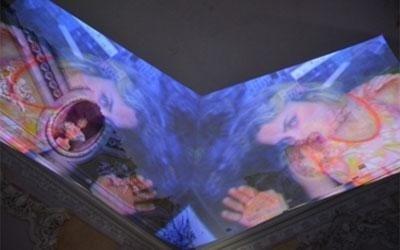 videoproiezione museale