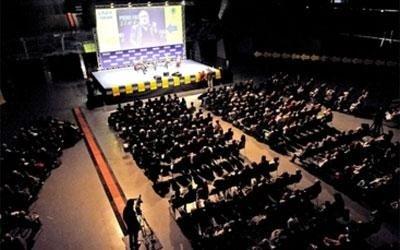 videoproiezione in congresso