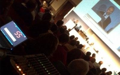 service audio video evento Pharma a Roma