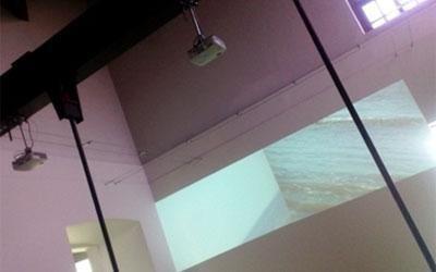 doppia videoproeizione museo