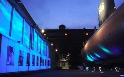 service luci museo della scienza