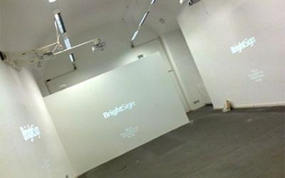 prove videoproiezioni sincronizzate