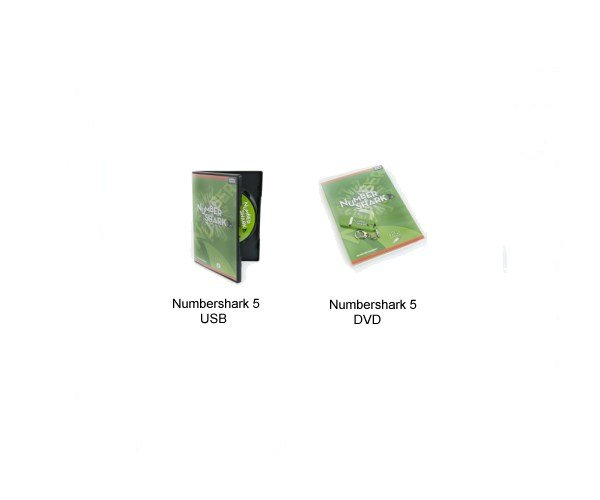 Numbershark 5 USB and DVD