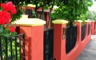 verniciatura recinto muratura