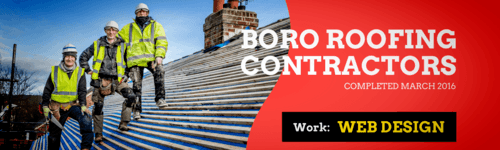 boro roofing contractors web design
