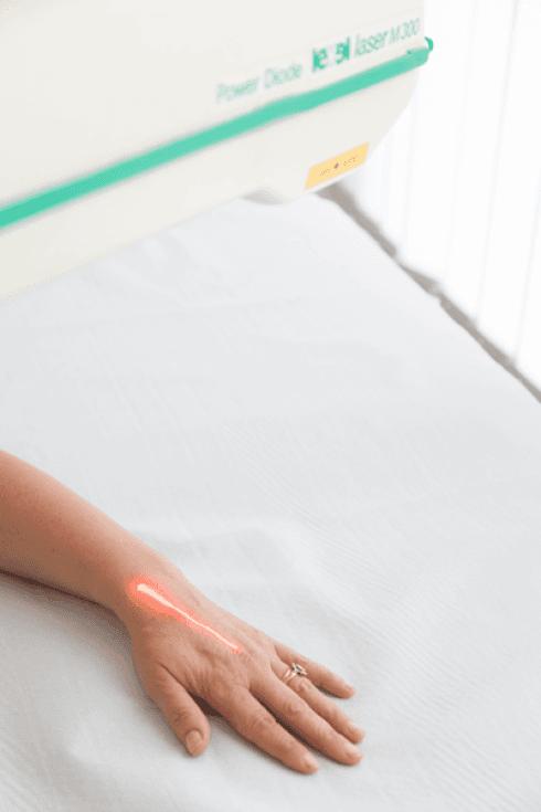Terapia riabilitativa delle articolazioni.