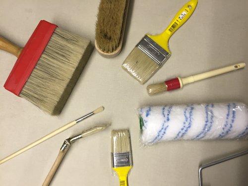 Pennelli per la pittura