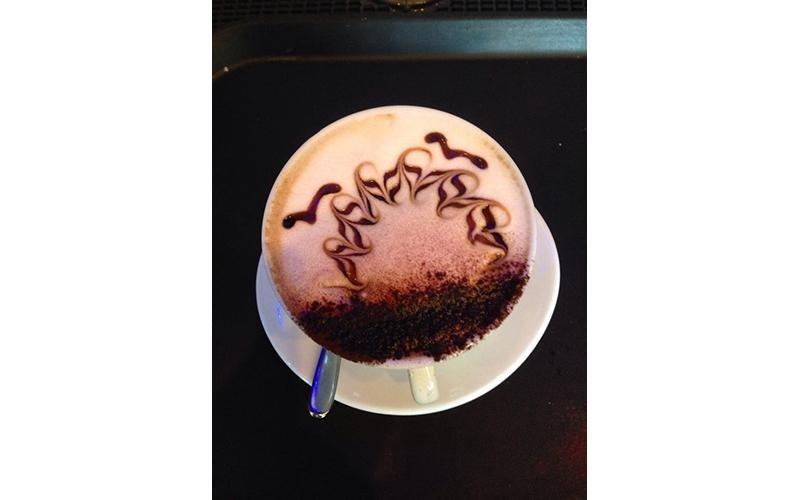 Cappuccino al cacao