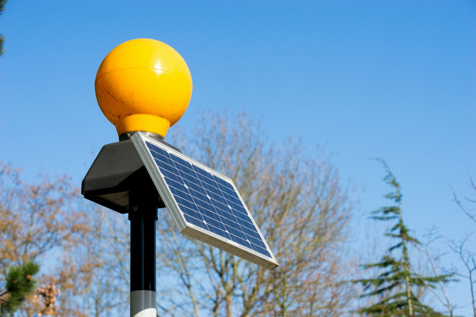 neon pannello solare