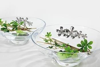 ciotole in cristallo
