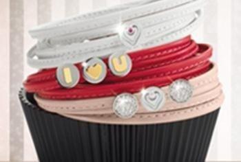 cinturini in cuoio con pietre colorate