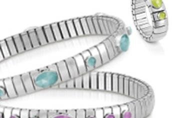 braccialetti con pietre colorate