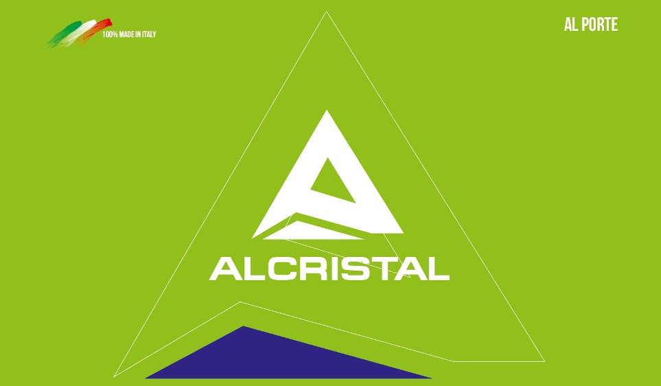 al porte-Al cristal-logo