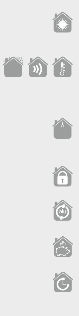 ICONA DI LUMINOSITA-PRESTAZIONI-ELEGANZA-SICUREZZA-SOSTENIBILITA-PULIZIA-INCENTIVI STATALI-GARANZIA