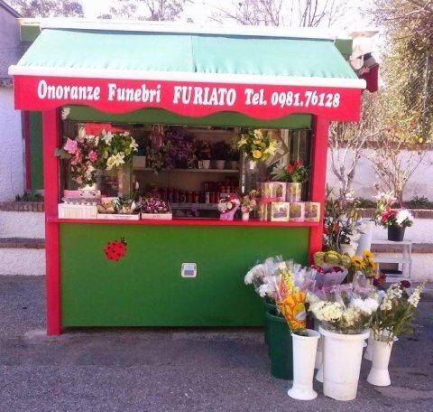 la coccinella vendita di fiori