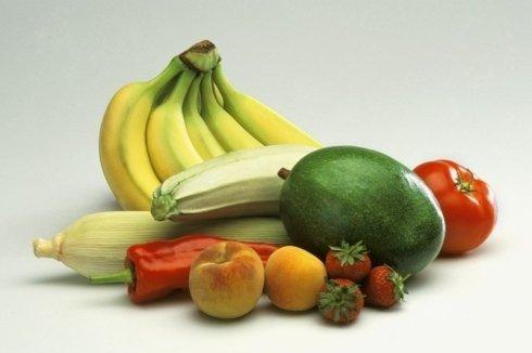 Frutta e verdura selezionate