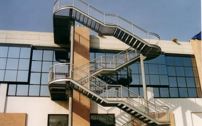 Realizzazione di scale esterne