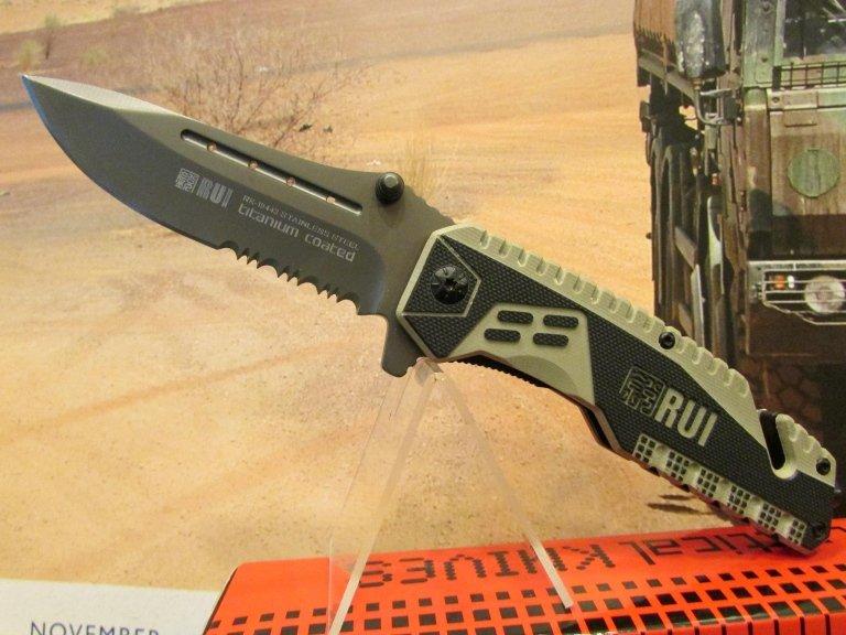 C-RU coltello Rui desert lama combinata taglia cinghie frangivetro