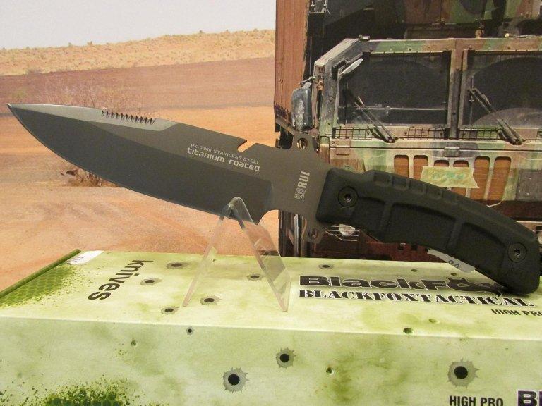 C-RU coltello Rui tactical con fodero