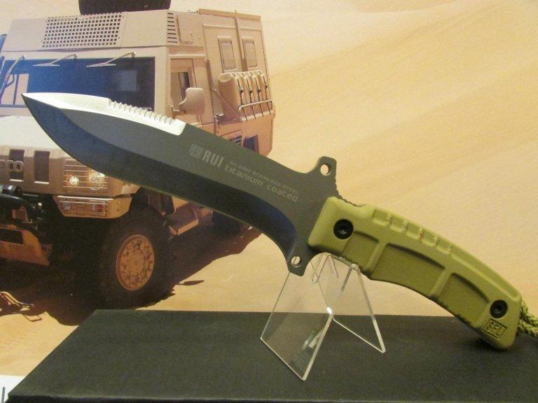 C-RU coltello Rui lama fissa desert con fodero