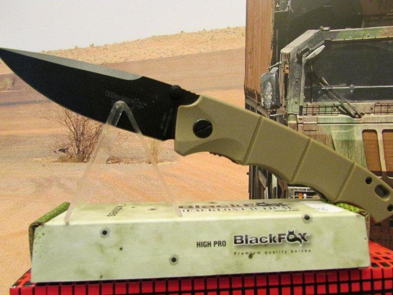 C-FX coltello black Fox desert