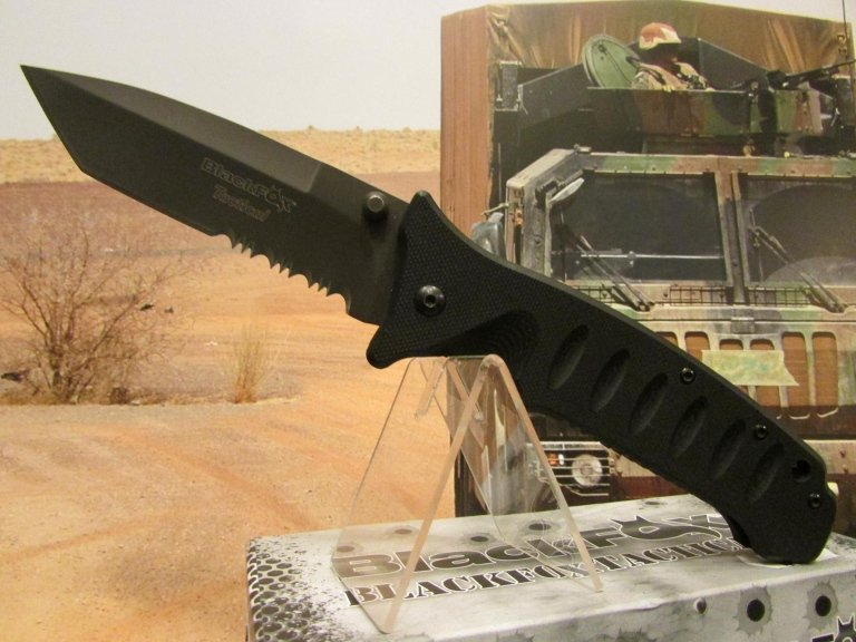 C-FX coltello black fox tactical