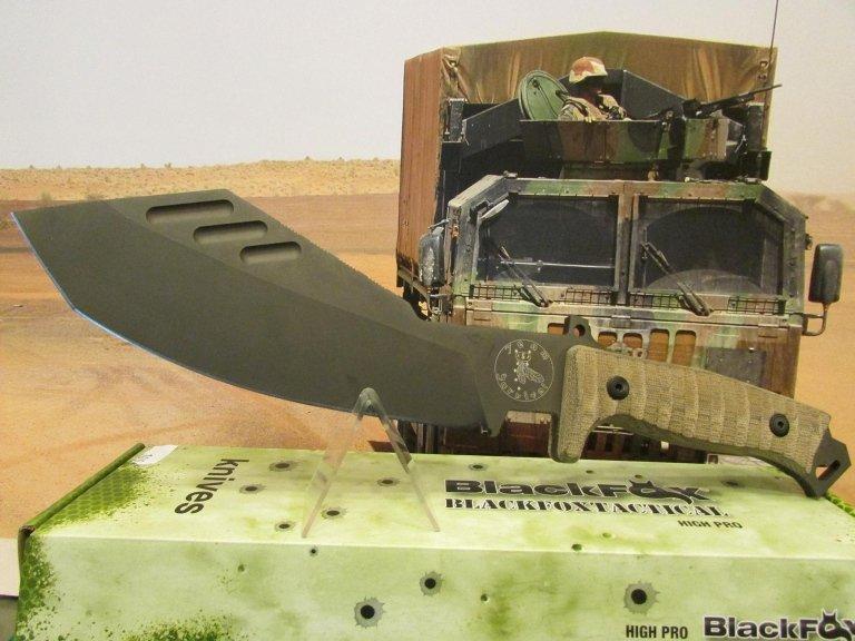 C-FX coltello machete fox team survival design paolo buozzo