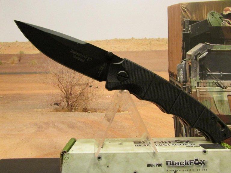 C-FX coltello black fox nero