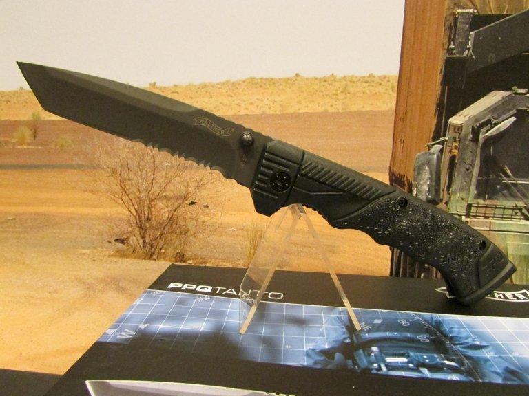 C-W coltello wather ppqtanto con fodero lama combinata