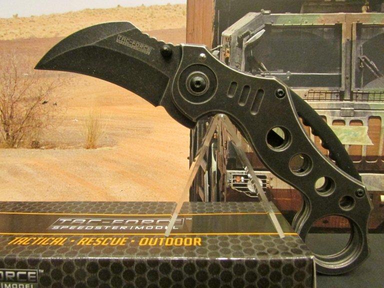 C-MT coltello karambit nero