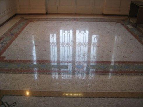 trattamento pavimenti mosaico