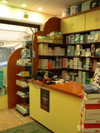 interno negozio di articoli sanitari