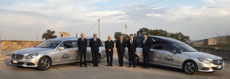 staff di una agenzia funebre