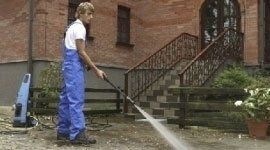 pulizia pavimentazione esterna