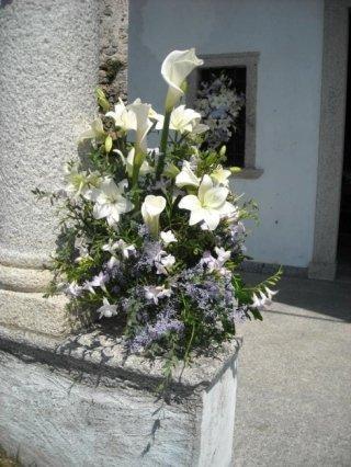 Fiori per decorazione da esterno