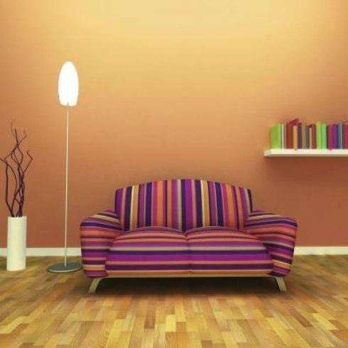 Restauro divani con stoffe di pregio