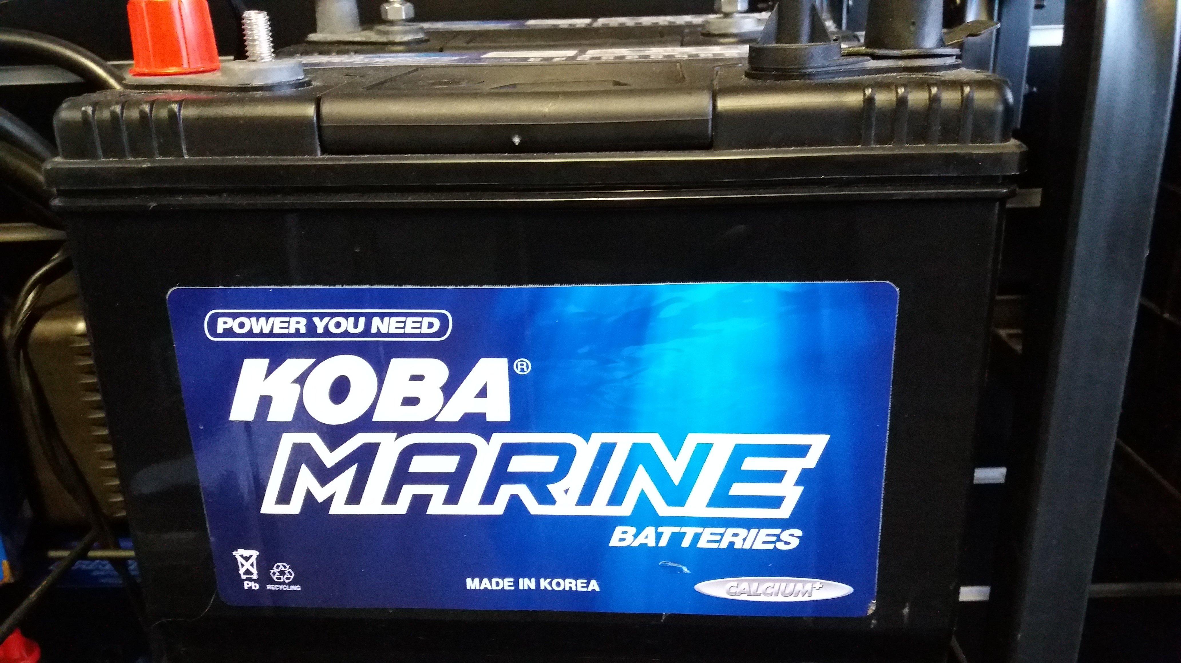Koba Marine Batteries