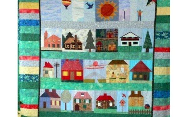 Mosaico cucito