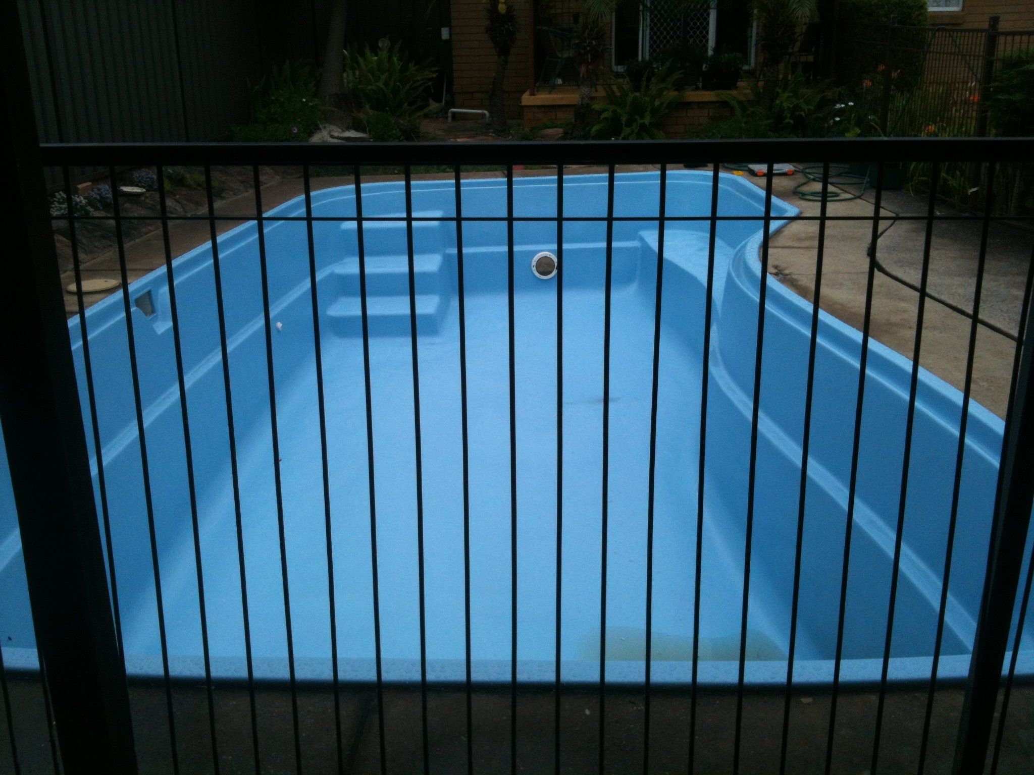 Pool resurfacing work completed by professional