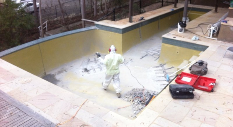 Pool Resurfacing Concrete Cancer