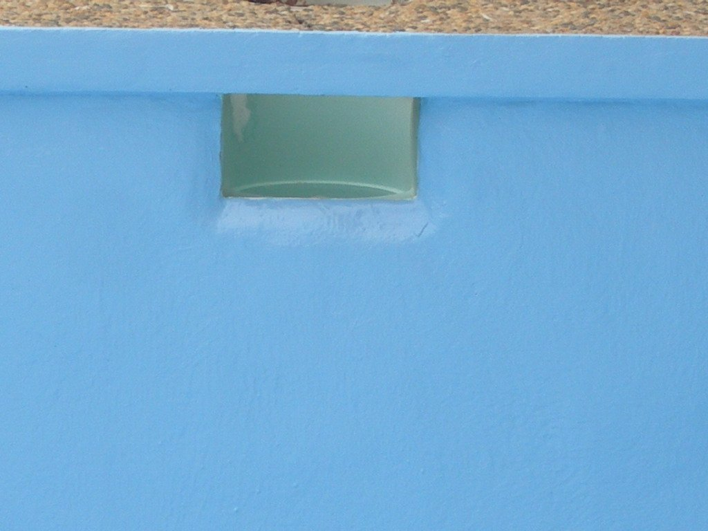 Repair work completed on the pool by pool renovation